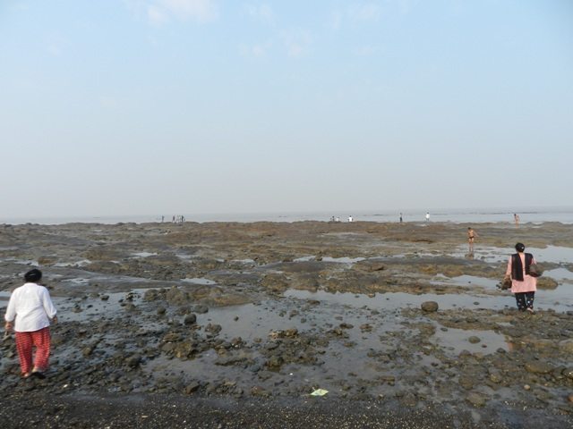 Rocky shores of Devka in Nani Daman