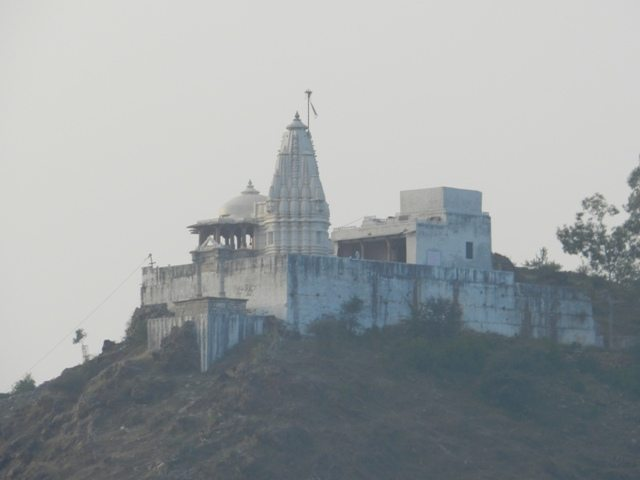Temple on a hill at Nathdwara