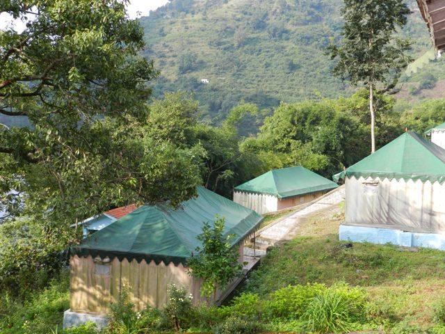 Tents at Parichay