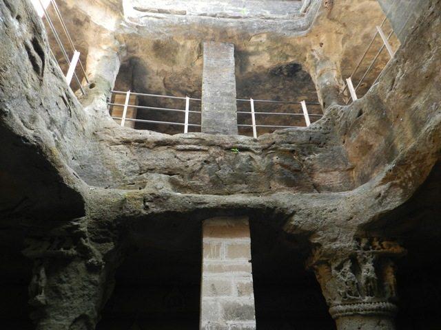 Three tier Buddhist Cave
