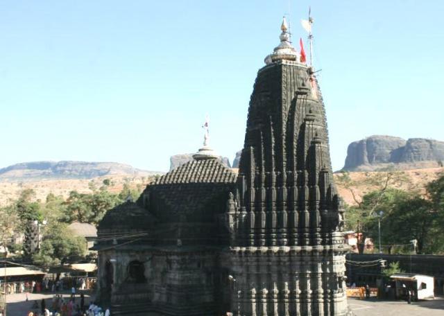 Trimbakeshwar Shrine. Courtesy web