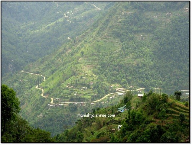 Road to Pelling