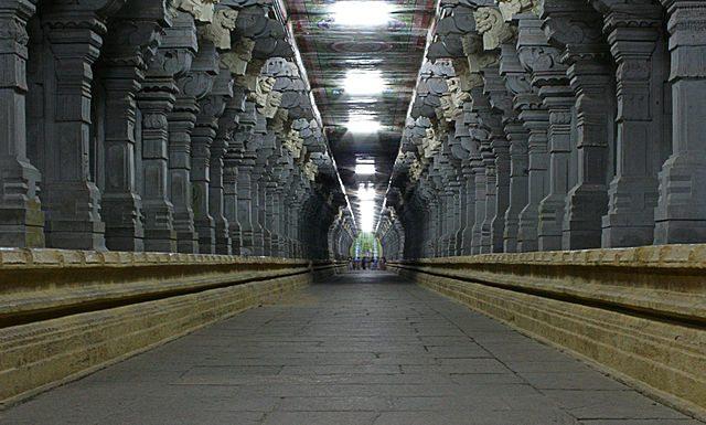 Sahashtra Sthambha (1000 Pillars) - Courtesy Wikipedia