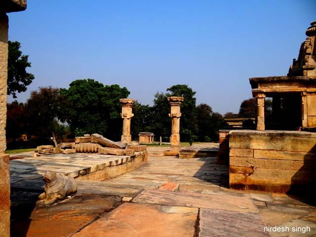 Batesar Temples - Gopur Dwar Pillars