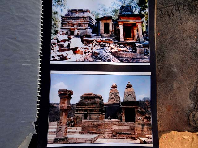 Batesar Temples - Now & Then