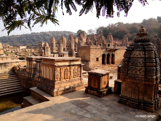 Bateshwar - Looking at the Temple Group