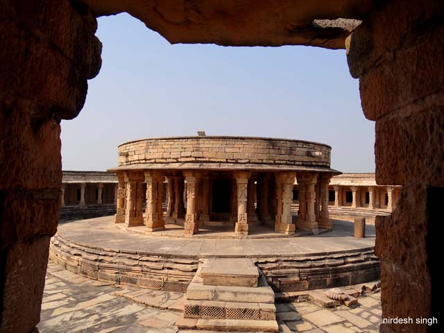 Chausath Yogini Temple at Mitawali