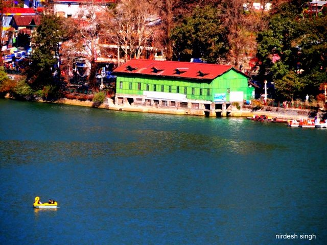 Nainital - Another View of the Lake