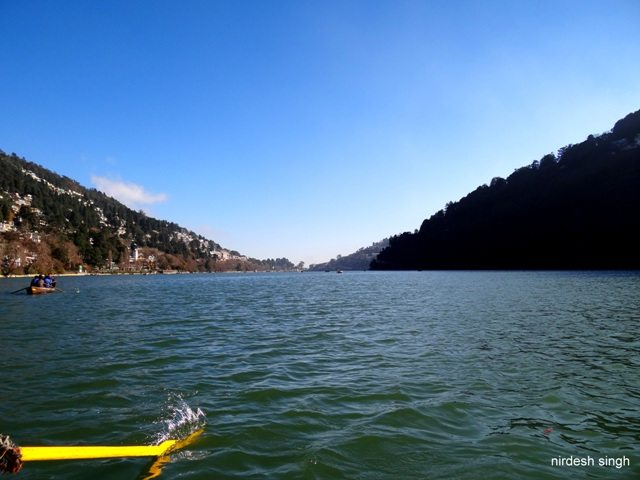 Nainital Lake - Row the Boat