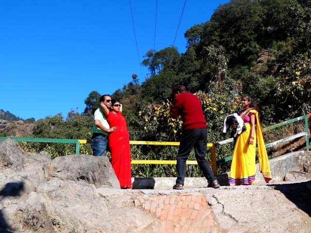Nainital Lovers Point - We so Love Each Other & it Shows