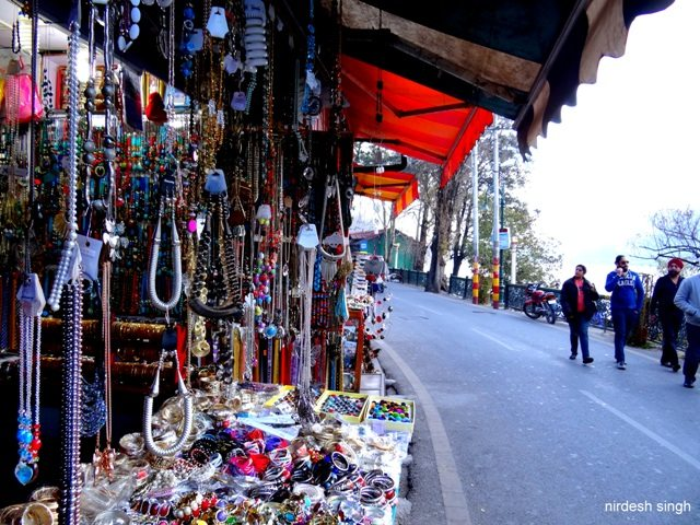 Nainital - Shopping on Mall Road