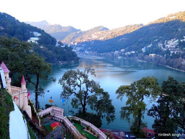 Nainital - View from Tallital