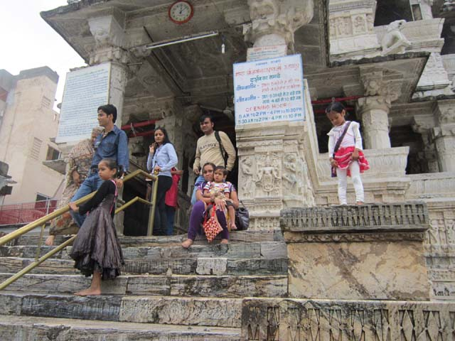 जगदीश मंदिर का प्रवेश द्वार