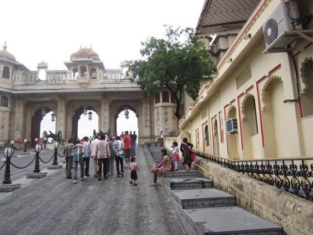 सिटी पैलेस, उदयपुर का मुख्य प्रवेश द्वार