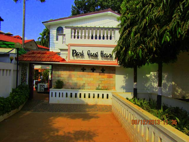 Entrance to Park Guest House