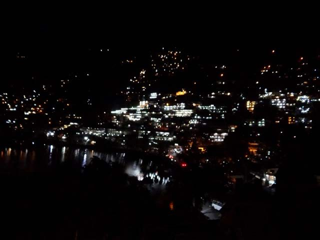 Shimmering Nainital at Night