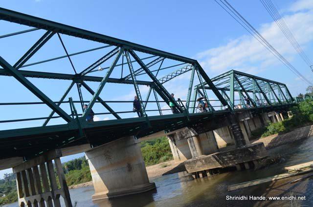 ta pai memorial bridge thailand