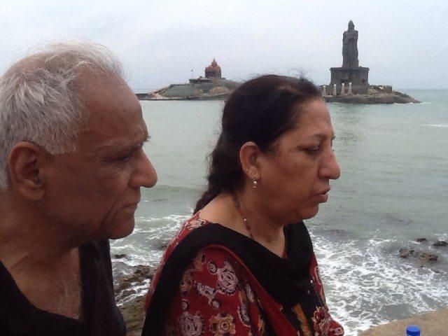 At Bhagavathy Temple