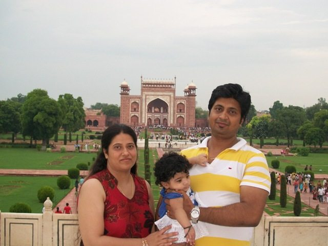 Brother & His Wife with Kid