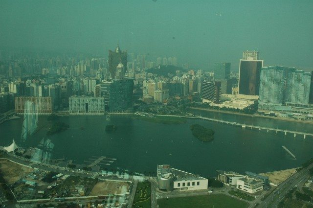 Macau View from Macau Tower