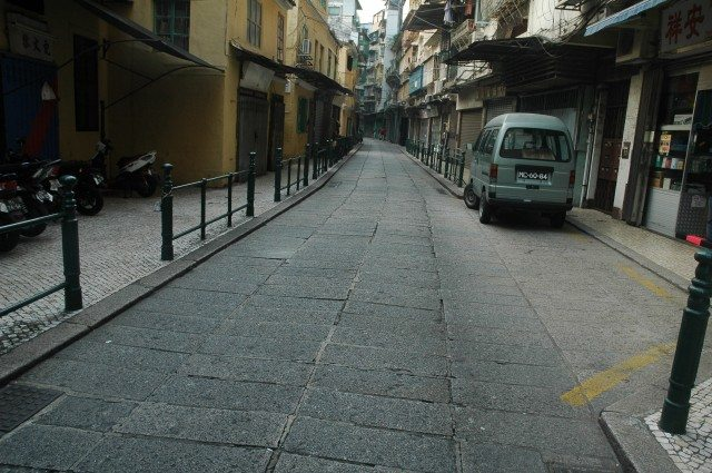 Streets of Macau Down Town