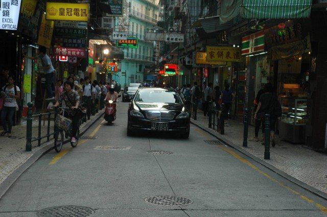 Streets of Macau Down Town