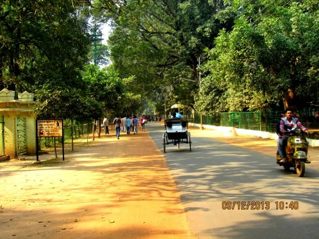 Roads of Santiniketan