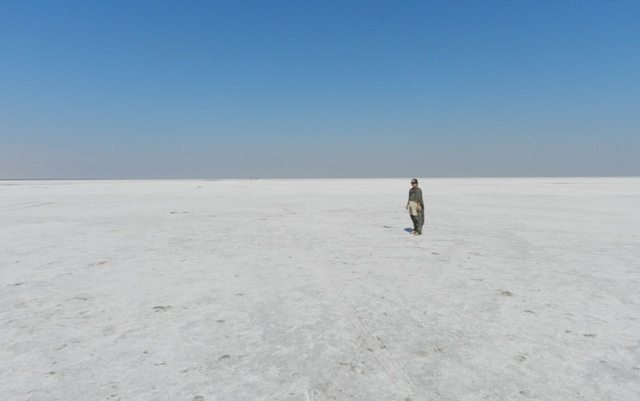 Ratna in White Rann