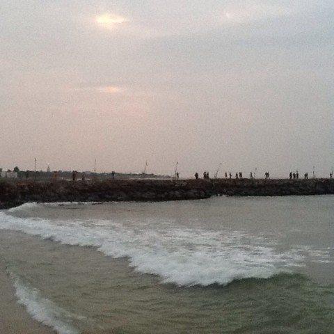 Sunrise at Arabian Sea