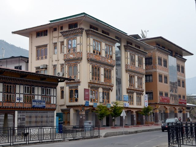 A beautiful architecture in Thimphu