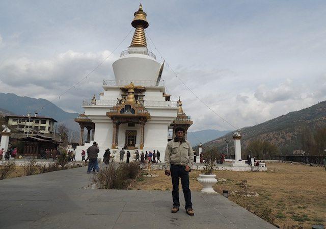 Memorial Chorten(Stupa