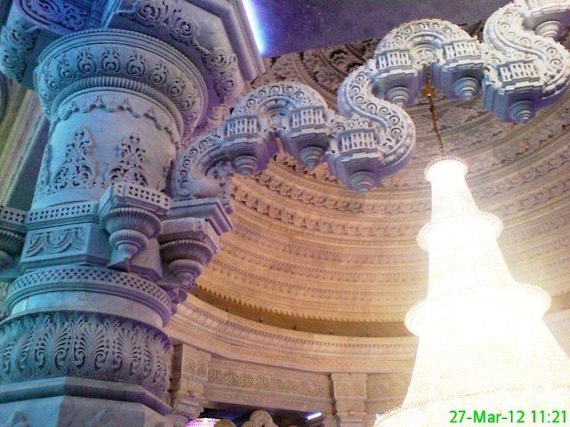 Engraved Marble Pillars