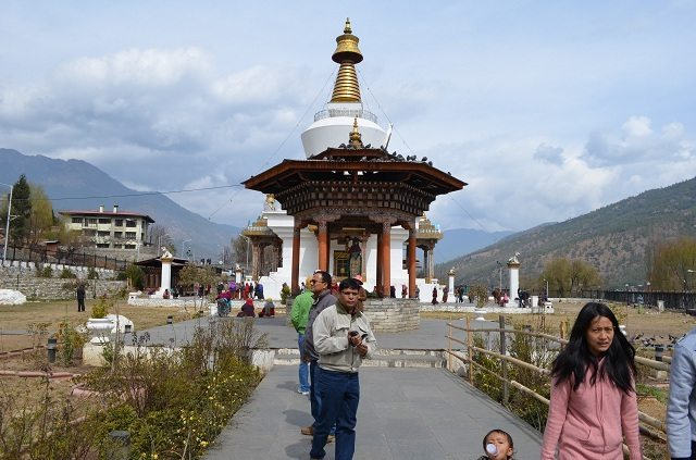 Chorten, the place of worship