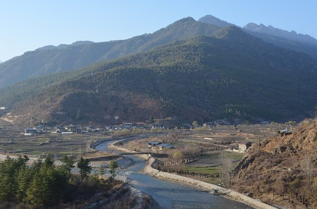 Another View of Paro Valley