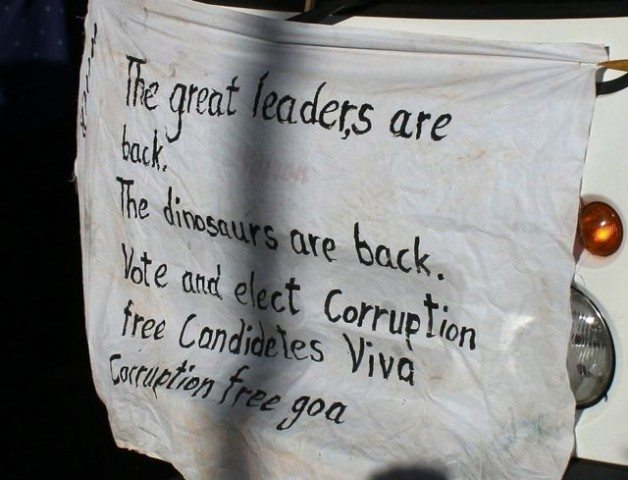Anti-corruption message