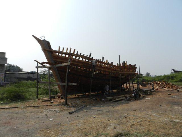 Boat Manufacturing at Mangrol