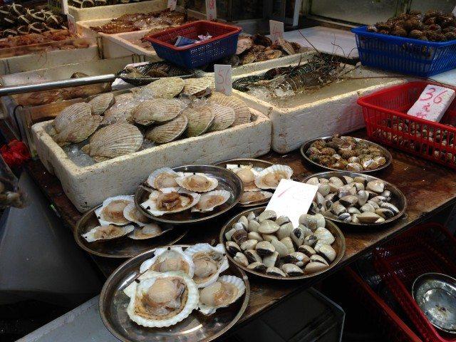 Live Sea Food