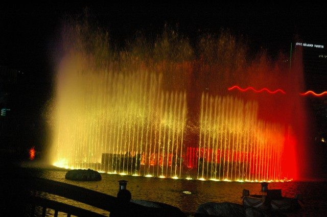 Fountain in Ocean Park