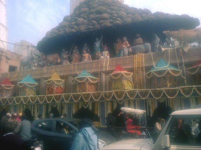 दानघाटी (गोवर्धन) गिरिराजजी मंदिर.