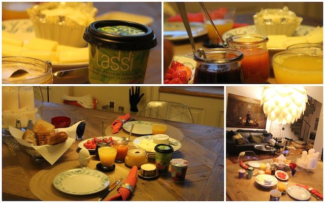 Breakfast at Kasia's place