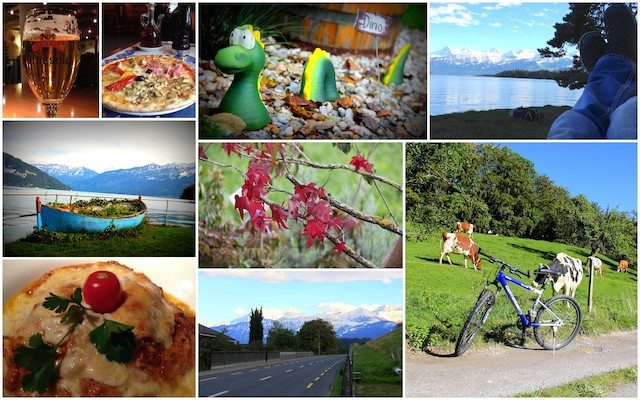 Bike rides around Spiez