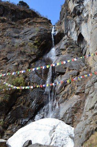 Water Falls near the Monastery