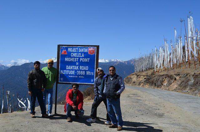 Summit at Chelela Pass
