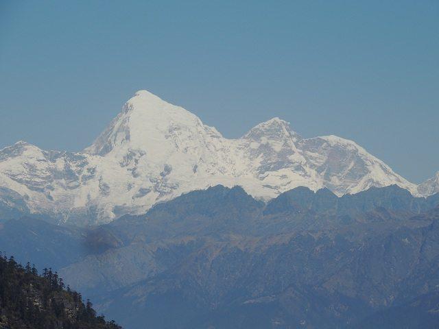 Mountain Jhomolhari