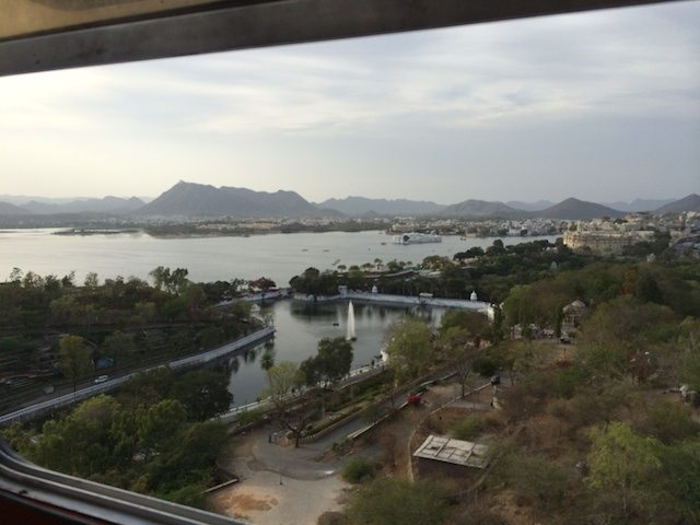 View of Udaipur from Dudh Talai