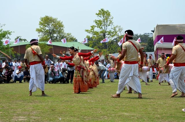 : A step of Bihu Dance