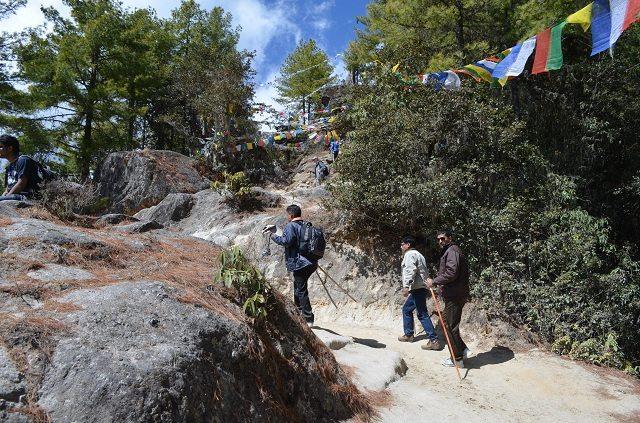 Trek Route to the Monastery