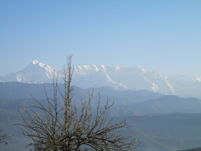 Mount Trishul from Kausani