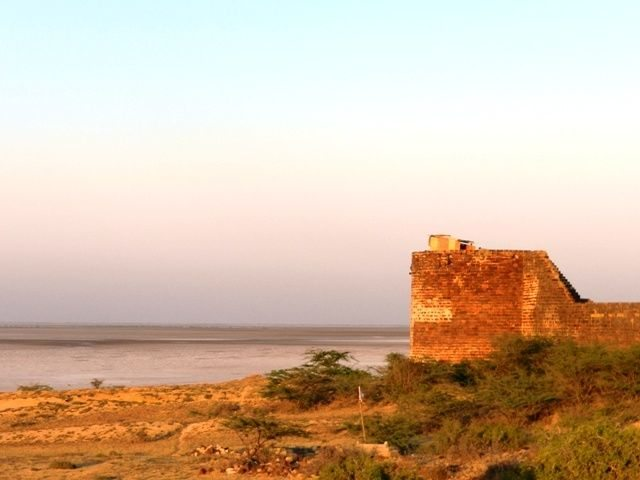 A splendid rear view from the FORT
