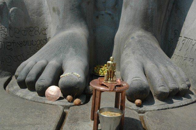 Bahubaliji's Feet